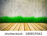 background with vintage wall... | Shutterstock . vector #180819362