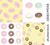 donut set with sprinkles...