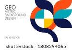 abstract vector geometric...   Shutterstock .eps vector #1808294065