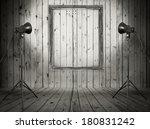 vintage studio room  background ...   Shutterstock . vector #180831242