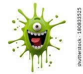 3d Crazy Monster  One Eyed ...