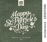 saint patrick's day... | Shutterstock .eps vector #180859388