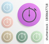 stopwatch badge color set....
