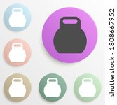 weight badge color set. simple...