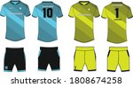 sports t shirt jersey design... | Shutterstock .eps vector #1808674258