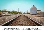Train Tracks In Corsicana  Texas