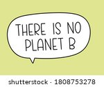 there is no planet b... | Shutterstock .eps vector #1808753278
