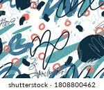 geometric vector scribbled...   Shutterstock .eps vector #1808800462