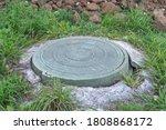 Green Plastic Manhole Cover Of...
