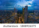 Panoramic Aerial View Of The...