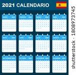 Spanish Calendar For 2021....