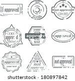 postage stamps | Shutterstock .eps vector #180897842