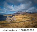 Road Running Past Loch Assynt...