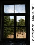 View Through Broken Window In...