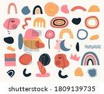 set of geometric shapes various ...   Shutterstock .eps vector #1809139735