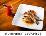 Grilled Sardines Plate With Re...