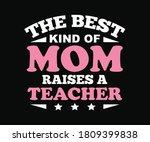 trendy t shirt design for...   Shutterstock .eps vector #1809399838