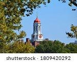 Clock tower steeple cambridge...