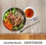 Asian Chicken Salad With Beige...