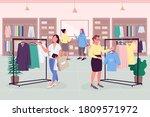 female drive flat color vector... | Shutterstock .eps vector #1809571972