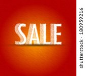 sale sketch background | Shutterstock .eps vector #180959216