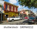 Постер, плакат: Cafes shops on Frenchmen