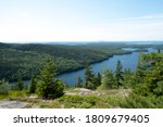 Panoramic Scenic As Seen From...