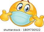 Emoji Emoticon With Medical...
