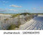 Sandy Road Through The Dunes To ...