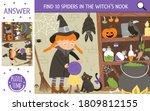 vector halloween searching game ... | Shutterstock .eps vector #1809812155