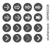icon arrow   vector illustration
