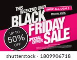 black friday sale poster layout ... | Shutterstock .eps vector #1809906718