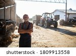 Portrait Of Senior Farmer With...