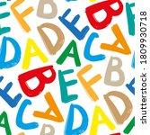 bright multicolored english... | Shutterstock .eps vector #1809930718