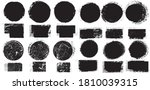 big collection of grunge post... | Shutterstock .eps vector #1810039315
