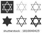 Jewish Star Of David Six...