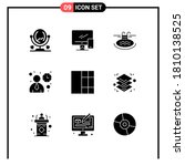 solid glyph pack of 9 universal ...