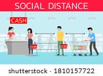 social distancing to prevent... | Shutterstock .eps vector #1810157722