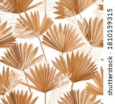 tropical vector dry palm leaves ... | Shutterstock .eps vector #1810159315