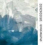 watercolor art background blue...   Shutterstock . vector #1810262632