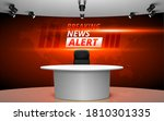 table and chair with breaking... | Shutterstock .eps vector #1810301335