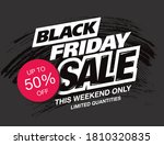 black friday sale poster layout ... | Shutterstock .eps vector #1810320835