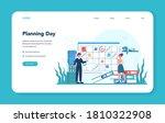 secretary web banner or landing ... | Shutterstock .eps vector #1810322908
