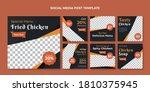 fried chicken social media post ...   Shutterstock .eps vector #1810375945