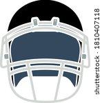 american football helmet icon....