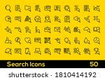 search icon sets. containing 50 ...