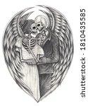 Angel Couples Skull.hand...