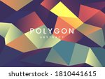 abstract background of... | Shutterstock .eps vector #1810441615
