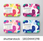 bath care cosmetics boxes set.... | Shutterstock .eps vector #1810444198