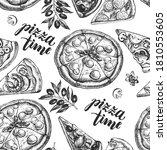 decorative seamless pattern... | Shutterstock .eps vector #1810553605